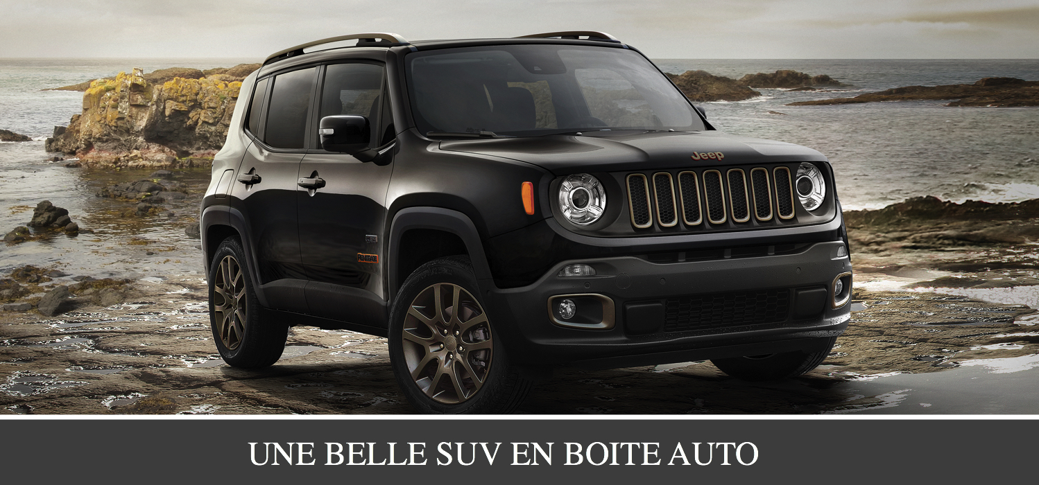 Location SUV En Tunisie: Jeep Renegade